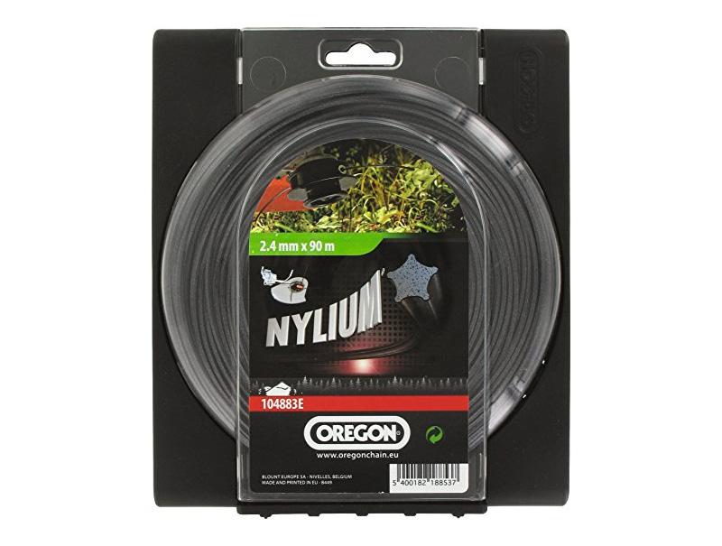 Леска косильная OREGON Nylium 2,4 x 60 м
