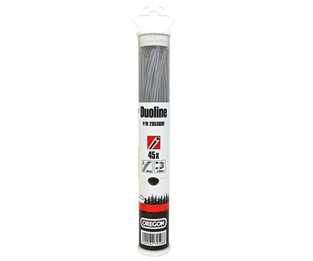 Леска косильная OREGON Duoline 3,0 х 20 см (45 шт.)