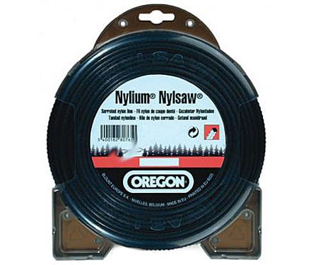 Леска косильная OREGON Nylium Nylsaw 2,5 x 60 м