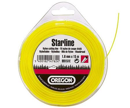 Леска косильная OREGON Starline 3,0 x 15 м